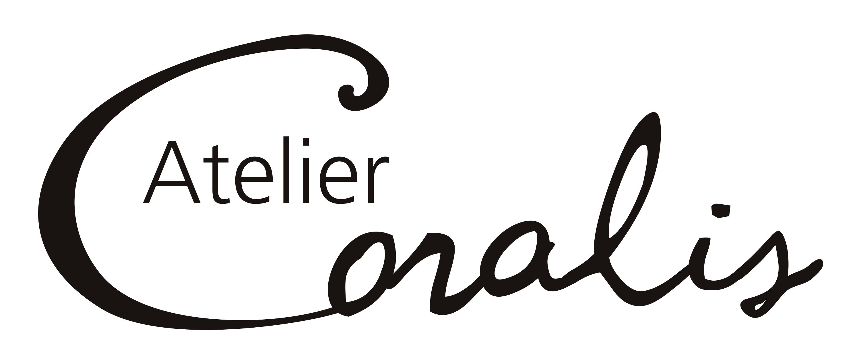 Logo Atelier Coralis en noir