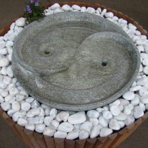 Harmonie vert de gris petite fontaine