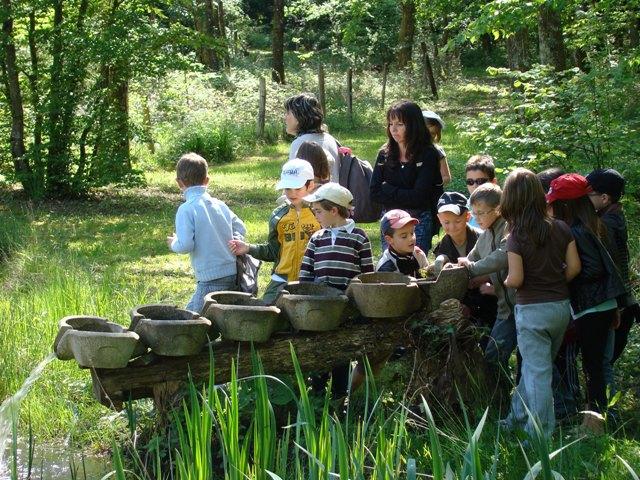 Visite enfants jardin