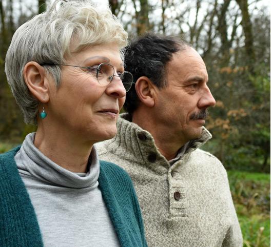 Portrait de Sylvie et Michael